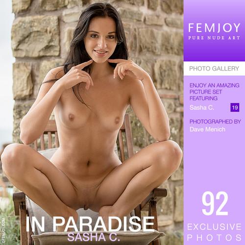 Sasha C in In Paradise   (10-26-2020)