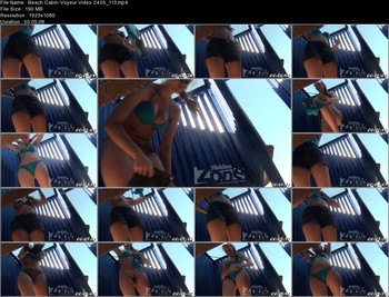 Beach Cabin-Voyeur Video 2405 113