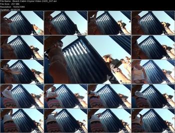 Beach Cabin-Voyeur Video 2405 247