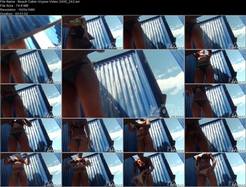 Beach Cabin-Voyeur Video 2405 242