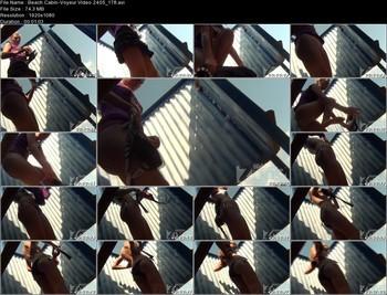 Beach Cabin-Voyeur Video 2405 178