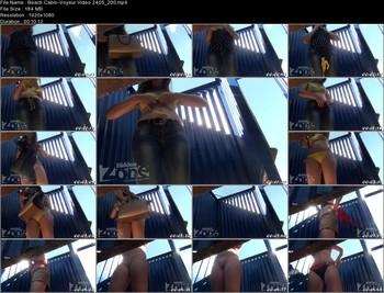 Beach Cabin-Voyeur Video 2405 200