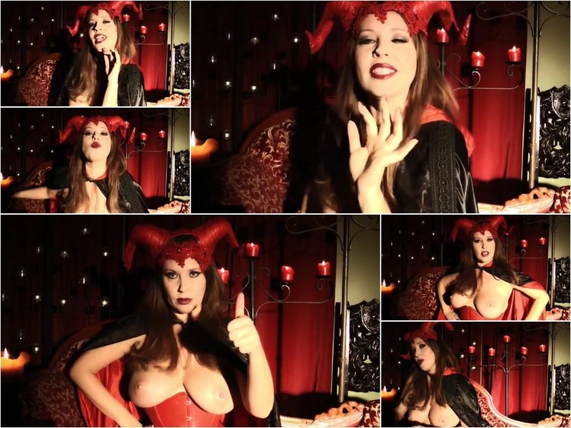 Clips4Sale - Anastasia Pierce - The Devil Owns Your Cock And Soul! [HD]