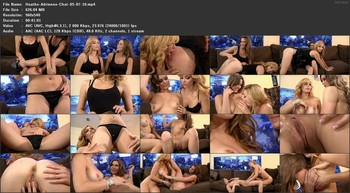 Heather Vandeven, Adrienne Manning - Live Chat, 540p