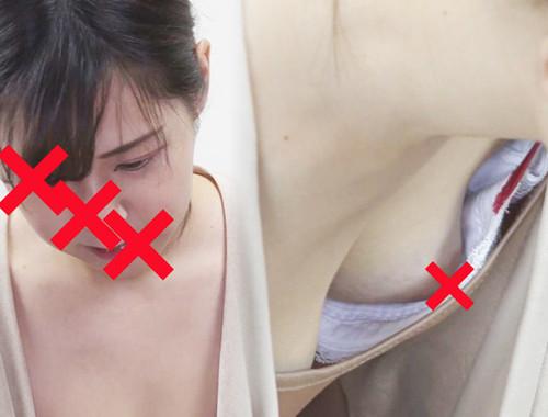 【胸チラ】救命講習中⑤