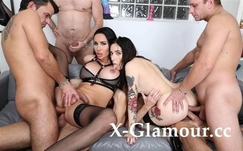 TS Kimberlee, Giada Sgh - Ts Kimberlee Vs Giada Sgh 2, Balls Deep Anal, Dap, Gapes, Pee And Squirt Drink, Facial With Cum Games Btg040 [HD/720p]