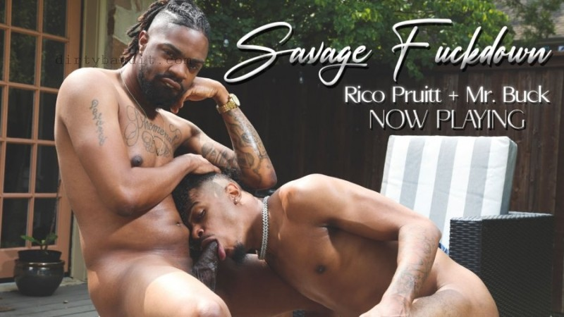 BreedItRaw - Savage Fuckdown: Mr. Buck, Rico Pruitt Bareback (Nov 14)
