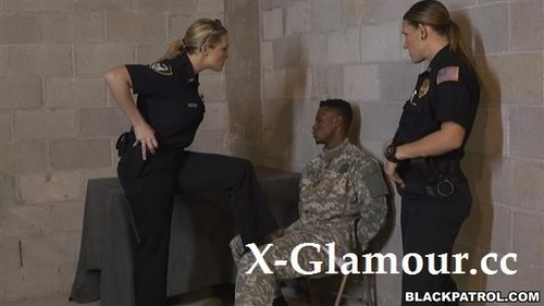 "Fake Soldier Gets Used As A Fuck Toy in ""Black Patrol 2020-07-05"" [FullHD]"