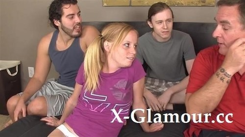 "Alyssa Hart in ""Young Pigtailed Cutie Gets Gang-Banged"" [FullHD]"