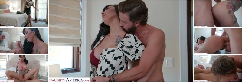 Lily Lane - Tattooed Bombshell, Lily Lane, Demands Sex From Her Husband's Friend Before Sending Him On His Way (HD)