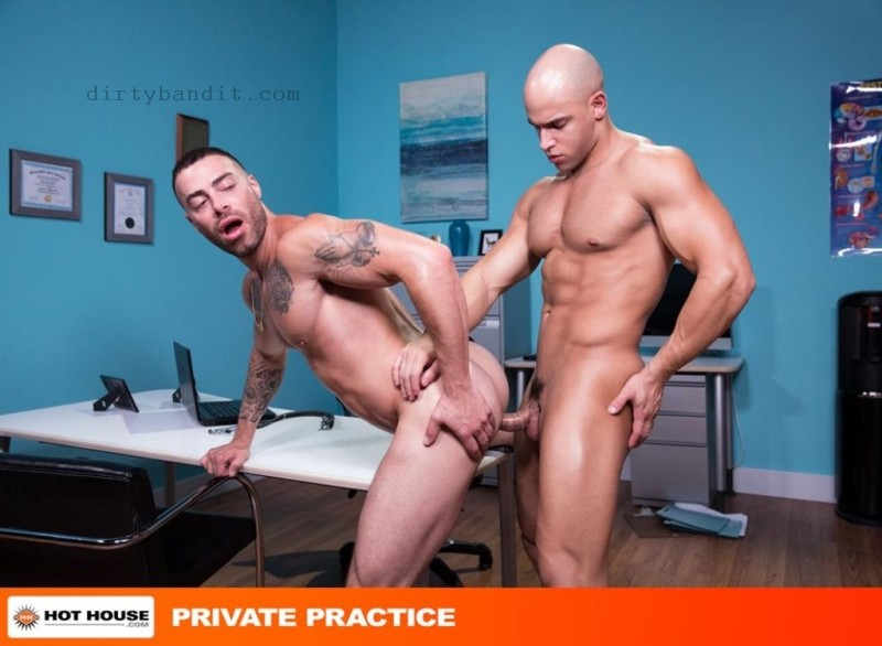 HotHouse - Private Practice Scene 1: Sean Zevran, Carlos Lindo