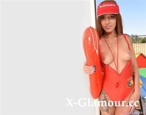 Scarlett Mae - Scarlett Mae Shows Off In Red Bikini (FullHD)