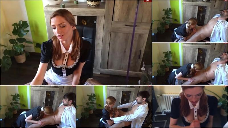 StrawXSberry - Notgeile Putzfrau - Vom Boss erwischt - Watch XXX Online [FullHD 1080P]