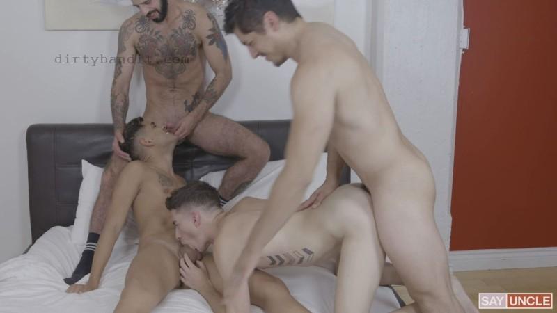 TwinkTrade - Stepdad Crush: Rocky Vallart, Alex Montenegro, Jake Nobello, Romeo Davis Bareback (Nov 29)