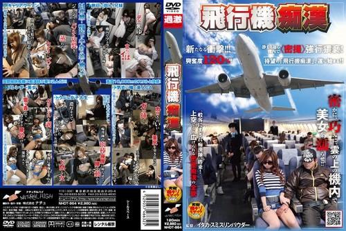 NHDT-964 飛行機痴漢
