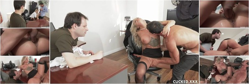 Alison Avery - Sissy Husband Watches As His Wife Gets Cock For Lunch (HD)