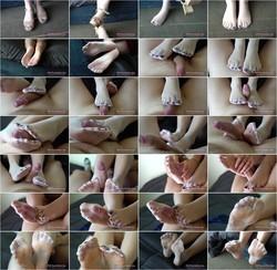 [Chaturbate.com] SanyAny, Alina Rose - Nylon Pantyhose Footjob: Online - Flashbit