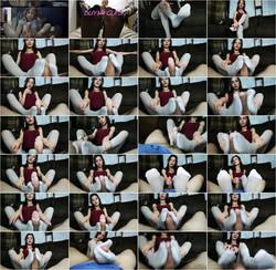 [Chaturbate] - SanyAny, Alina Rose - EXCLUSIVE LATINA GIVES POV PANTYHOSE FOOTJOB CUM EXTRACTION (2021 / HD 720p)