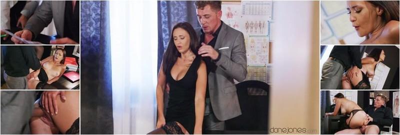 Mina Moreno - New secretary with big natural tits (FullHD)