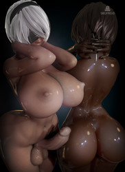 SiegFreud - Yorha 2B and 2P