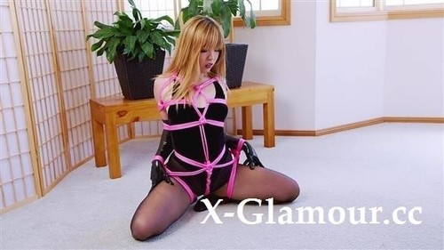 """Mina in """"Velvet Bodysuit Pink Rope"""" [SD]"""