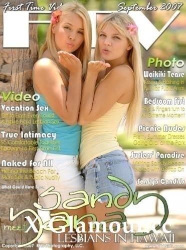 Sandy, Yana - Lesbians In Hawaii (SD)