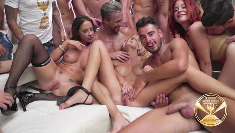 RoccoSiffredi - Malena Nazionale, Linda Leclair, Joanna Bujoli, Silvia Lamberti, Blue Angy