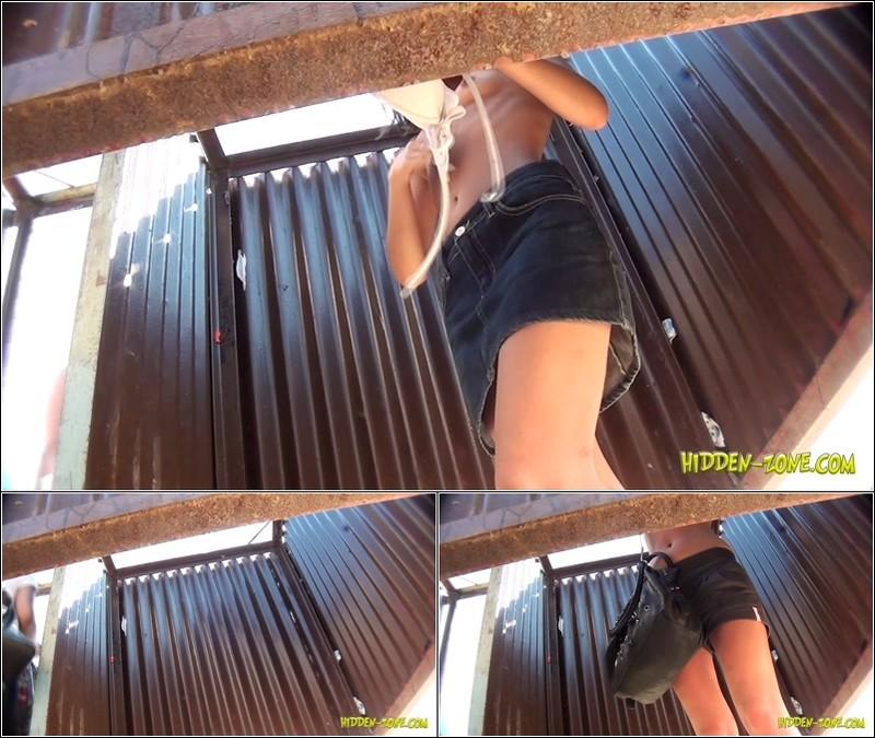 Beach Cabin-Voyeur Video 3059