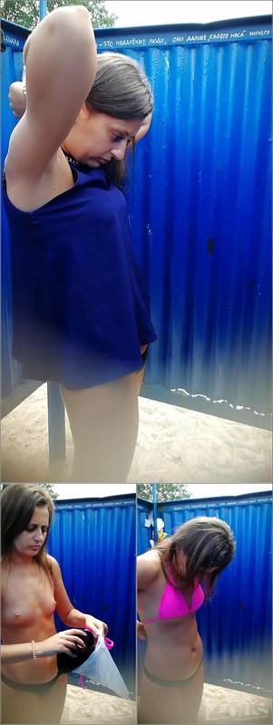 Beach Cabin-Voyeur Video 3019