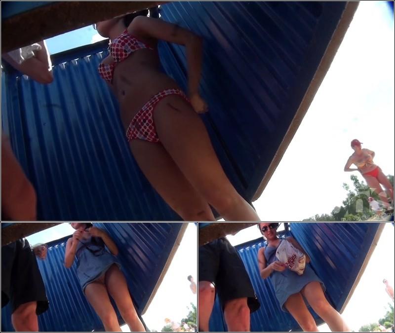 Beach Cabin-Voyeur Video 3034