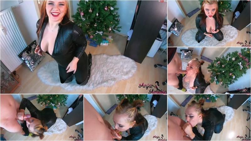 AnjaAmelia - Catsuit Blowjob mit deinem hei?en Kaetzchen [FullHD 1080P]