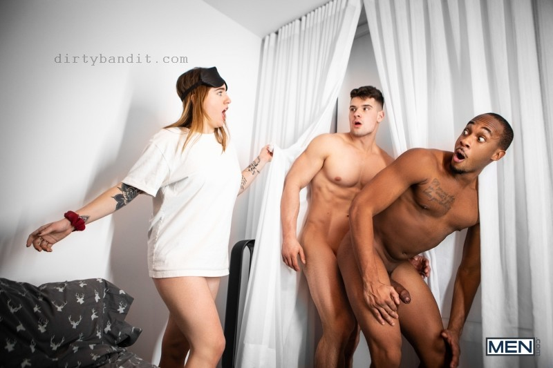 MEN - I Snatched Her Boyfriend: Trent King, Malik Delgaty (Bareback) (Jan 15)