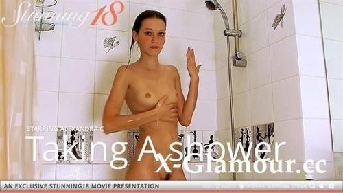 Alexandra C - Alexandra Taking A Shower [FullHD/1080p]
