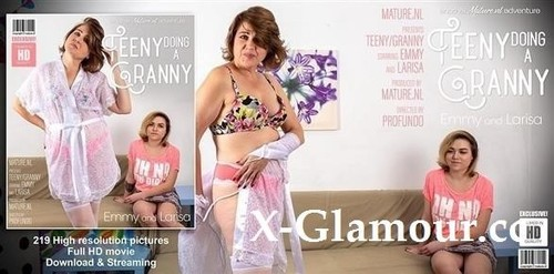 Emmy - Teeny Emmy Is Doing Granny Larisa (FullHD)