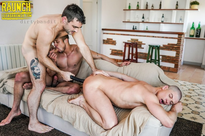 LucasRaunch - 030.Max Arion Rips Up Ruslan Angelo & Lorenzo Ciao With Uncut Cock & Toys (Jan 21)