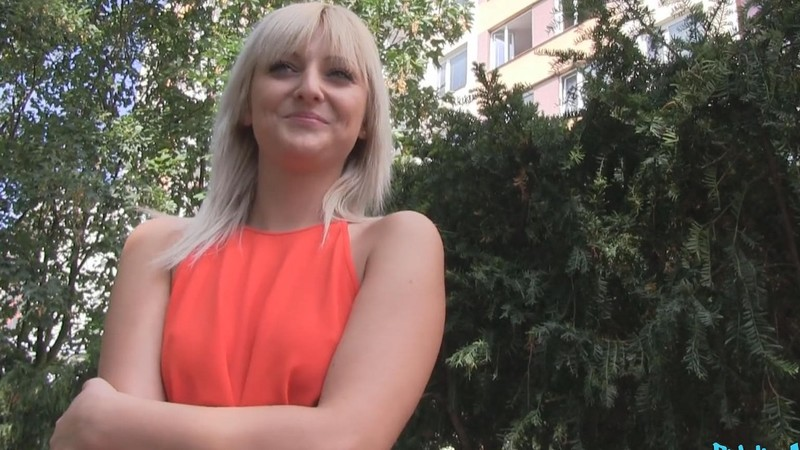 Fakehub - Slim blonde with perfect tits fucks a stranger
