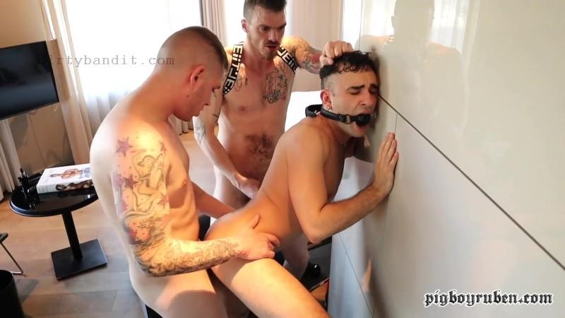 PigboyRuben - Rude Boyzz: Billy Vega, Master Aaron & Aj Alexander Bareback