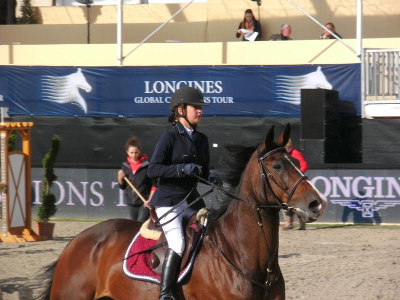 beautiful girls in equestrian uniforms