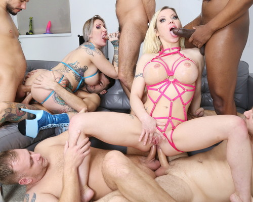 Barbie Sins, Alexxa Vice - Wet UK Supersults With Barbie Sins And Alexxa Vice 2, Orgy With Balls Deep Anal, Dap, Gapes, Buttrose, Pee Drink GIO1692 - 1080