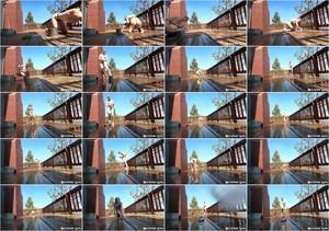 [Bondagelife] - Rachel Greyhound, Sasha Darling - Deck cleaning (2021 / HD 720p)