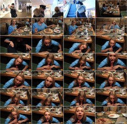 [LuxuryGirl] - Luxury Girl - Public Blowjob Under The Table In The Restaurant. Cum in Mouth (2021 / FullHD 1080p)