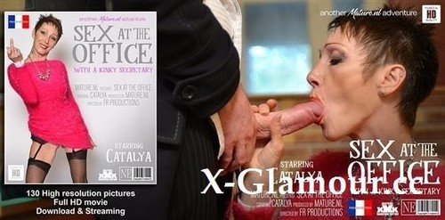 Pussy Pierced Mature Secretary Gets Fucked In The Office [FullHD]
