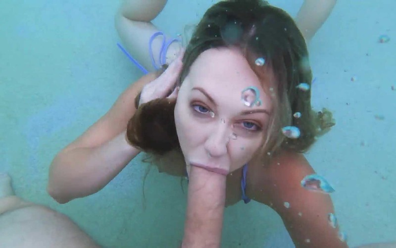Adira Allure - Underwater POV Cock Sucking [FullHD 2.27 GB]