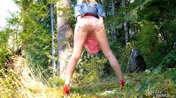 Katie Banks - Summer Stripes JOI, 2160p