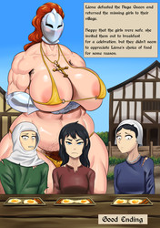 GoldCrustedChicken - Bikini Knight Liona - Naga Queen