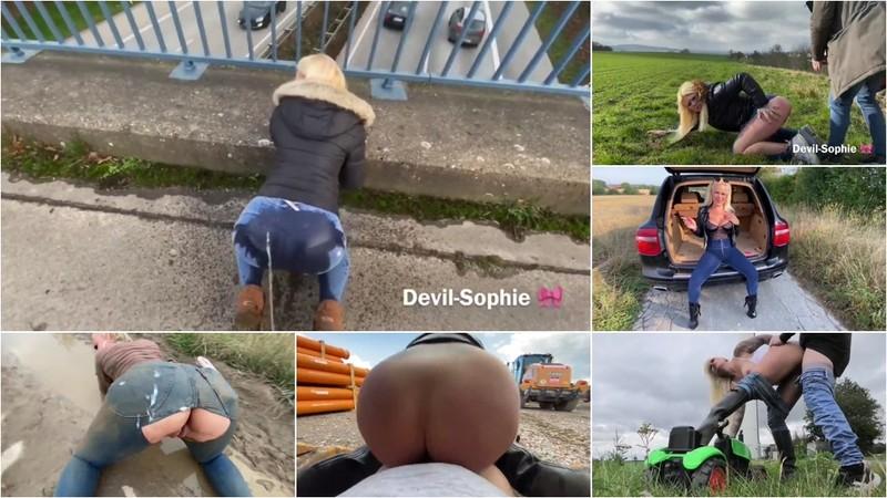 devil-sophie - Best of Jeans - So geil wars 2020 - Fick Piss Fetz Spermaarsch Jeansfickloecher bis d [FullHD 937 MB]