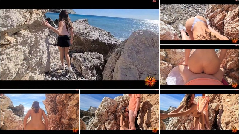 Lia-Fox - Traumhafter Sex am oeffentlichen Strand [FullHD 268 MB]