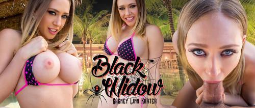Kagney Linn Karter Black Widow Gearvr