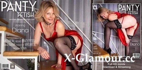Milf Dirty Diana Shwoing Off Her Pantyhose Fetish At Home [FullHD]