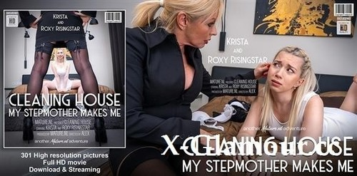 Krista E, Roxy Risingstar - How To Train Your Daughter [FullHD/1080p]